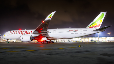 ET-AVD - Airbus A350-941 - Ethiopian Airlines
