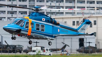 JA6196 - Agusta-Westland AW-139 - Japan - Police