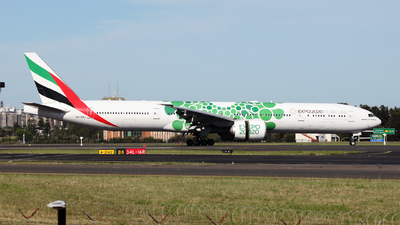 A picture of A6EPL - Boeing 77731H(ER) - Emirates - © Morris Biondi