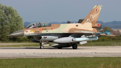 642 - General Dynamics F-16D Fighting Falcon - Israel - Air Force