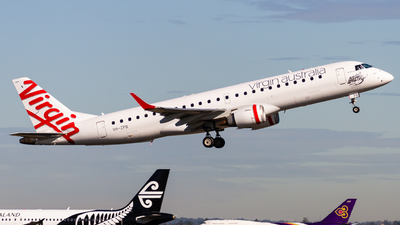 VH-ZPB - Embraer 190-100IGW - Virgin Australia Airlines
