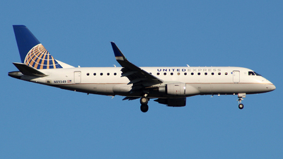 A picture of N89349 - Embraer E175LR - United Airlines - © wangruoyao