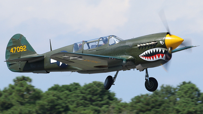 NL293FR - Curtiss TP-40N Warhawk - Private