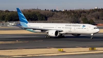 PK-GIE - Boeing 777-3U3ER - Garuda Indonesia