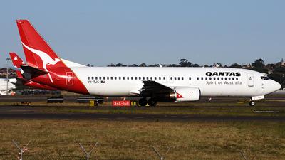 VH-TJS - Boeing 737-476 - Qantas