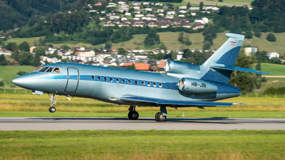 HB-JIN - Dassault Falcon 900EX - Jet Aviation Business Jets