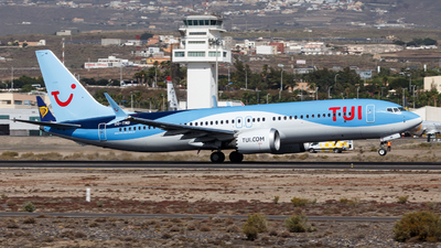 A picture of OOTMB - Boeing 737 MAX 8 - TUI fly - © TJDarmstadt