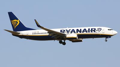 A picture of EIEKD - Boeing 7378AS - Ryanair - © Javier Rodriguez - Amics de Son Sant Joan