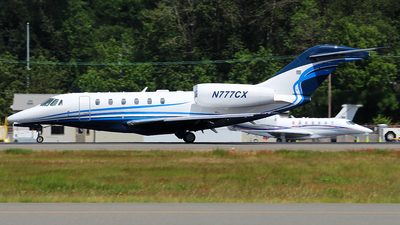 N777CX - Cessna 750 Citation X - Private