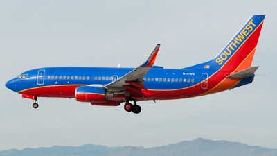 N481WN - Boeing 737-7H4 - Southwest Airlines