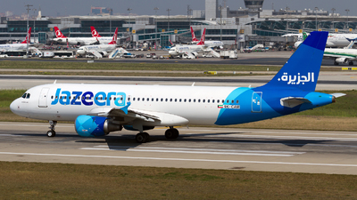 9K-CAM - Airbus A320-214 - Jazeera Airways