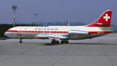 HB-ICU - Sud Aviation SE 210 Caravelle III - Swissair