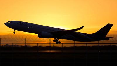 HS-TET - Airbus A330-343 - Thai Airways International