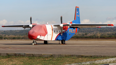 P-4101 - IPTN NC-212-100 Aviocar - Indonesia - Police