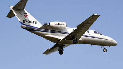 B-3649 - Cessna 525 Citationjet CJ1 - Civil Aviation Flight University of China