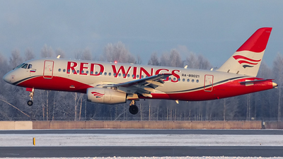 RA-89021 - Sukhoi Superjet 100-95B - Red Wings