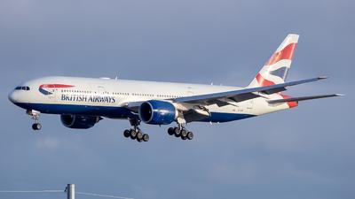 G-VIIR - Boeing 777-236(ER) - British Airways