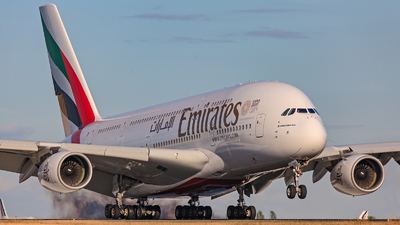 A picture of A6EDT - Airbus A380861 - Emirates - © Phil Noret
