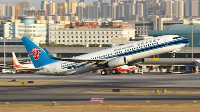 A picture of B1952 - Boeing 73781B - China Southern Airlines - © BillyLIAO