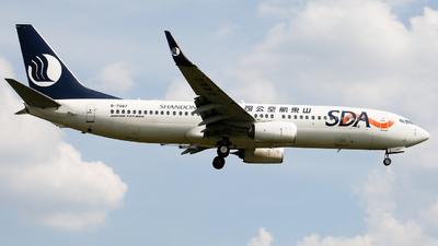 B-7087 - Boeing 737-85N - Shandong Airlines
