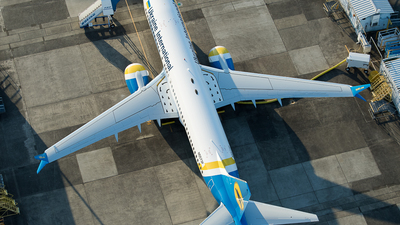 N5573P - Boeing 737-8 MAX - Ukraine International Airlines