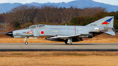 87-8414 - McDonnell Douglas F-4EJ Kai - Japan - Air Self Defence Force (JASDF)
