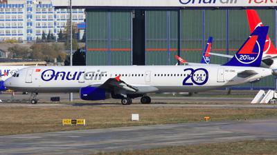 TC-OAL - Airbus A321-231 - Onur Air