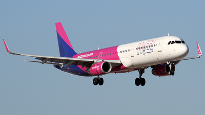 G-WUKL - Airbus A321-231 - Wizz Air UK