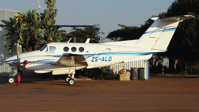 ZS-ALD - Beechcraft F90 King Air - Private