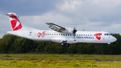 OK-MFT - ATR 72-212A(500) - CSA Czech Airlines