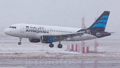 5A-ONC - Airbus A319-111 - Afriqiyah Airways