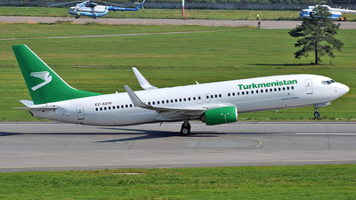 A picture of EZA016 - Boeing 73782K - Turkmenistan Airlines - © 42 dono