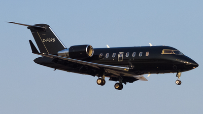 C-FGRS - Bombardier CL-600-2B16 Challenger 605 - Private