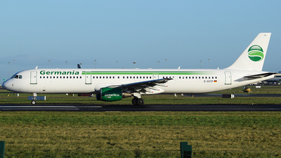 D-ASTP - Airbus A321-211 - Germania