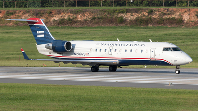 N209PS - Bombardier CRJ-200ER - US Airways Express (PSA Airlines)