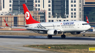 TC-JFE - Boeing 737-8F2 - Turkish Airlines