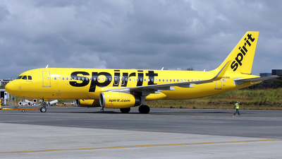 N618NK - Airbus A320-232 - Spirit Airlines