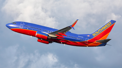 N254WN - Boeing 737-7H4 - Southwest Airlines