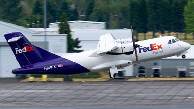 A picture of N911FX - ATR 42300(F) - FedEx - © Ricky Teteris