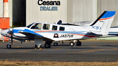 JA57UK - Hawker Beechcraft Baron G58 - Sojo University