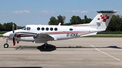 D-ICKE - Beechcraft B200GT Super King Air - Private