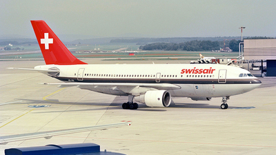HB-IPA - Airbus A310-221 - Swissair