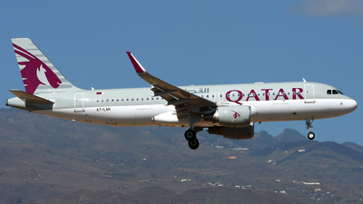 A picture of A7LAH - Airbus A320214 - Qatar Airways - © Alejandro Hernández León