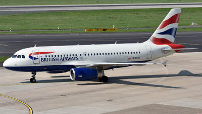 G-EUOE - Airbus A319-131 - British Airways