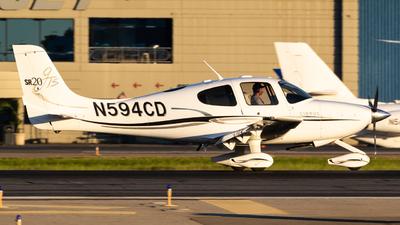N594CD - Cirrus SR20-GTS - Private