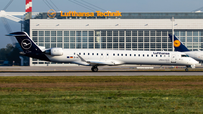 A picture of DACNP - Mitsubishi CRJ900LR - Lufthansa - © Tobias Grünholz