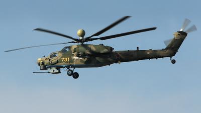 731 - Mil Mi-28NM - Russia - Air Force