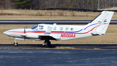 N500AA - Cessna 414A Chancellor - Private