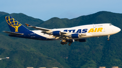 N472MC - Boeing 747-45E(BDSF) - Atlas Air