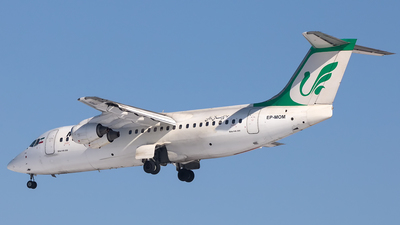 A picture of EPMOM - BAe 146300 - Mahan Air - © Mehdi Piltan